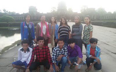 Les ados du Centre à Siem Reap (+ infos formations)
