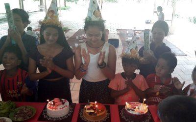 3 anniversaires fêtés au Centre (+ infos Formations)