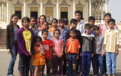 Sortie à Phnom Penh pour les enfants du Centre